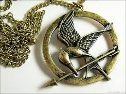 Treena bean mockingjay antique brass colored pendant necklace treena bean mockingjay antique brass colored pendant necklace inspired by the hunger games with 30 chain necklace fashion necklace aloadofball Images