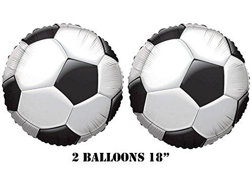"""Soccer Balloons 18"""" (2 balloons) - 1"""
