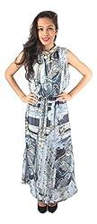 Tenn Women's Maxi Dress (BLGD11NSXS_Medium_Multi)