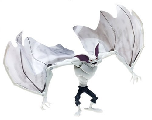 Batman Year 2004 Animated Cartoon Series 6 Inch Tall Action Figure : MAN-BAT with Flapping Wing by Mattel (English Manual)