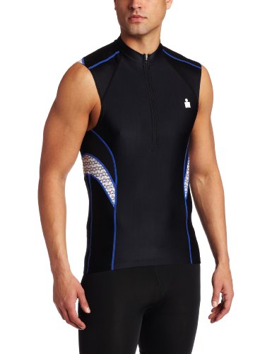 TYR SPORT Men's Ironman Male Sleeveless Cycling Tri Jersey
