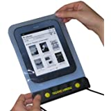 TrendyDigital WaterGuard Waterproof Case for the All New Nook, Second Generation Nook from Barnes and Noble, Blue