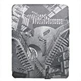 M.C. Escher Relativity Premium iPad 2 Fabric Wrapped Case