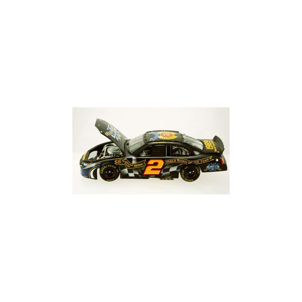Action   NASCAR   Rusty Wallace #2   2004 Dodge Intrepid   Announcement Car   Miller Lite   Rustys Last Call   Penske Racing   1 of 5,916   Limited Edition   Collectible