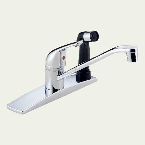 Peerless P14LF Single Handle Kitchen Faucet - Chrome