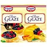 Dr. Oetker Clear Glaze, 2 Packets each .35oz