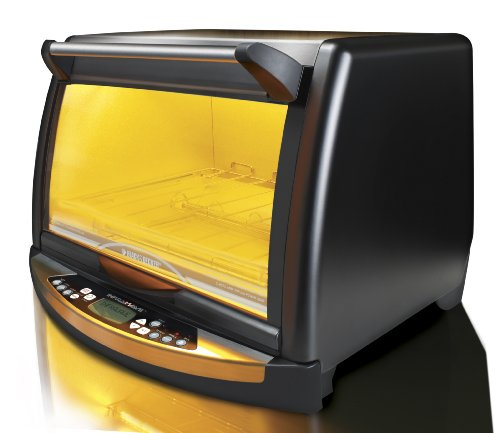 ... FC150BR InfraWave Speed-Cooking Countertop Oven, Black Halogen Oven