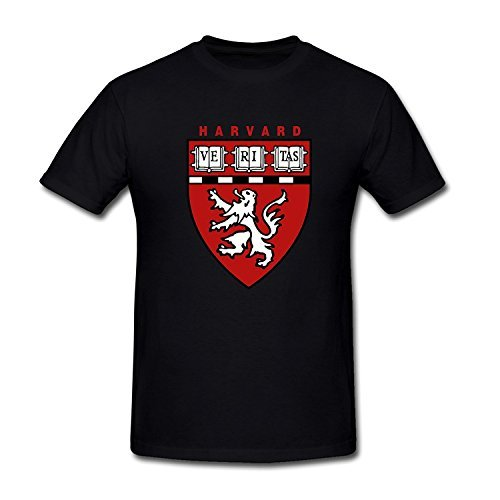 Thhloa Neumee Men's Harvard University Medical School Logo T-Shirt M Black