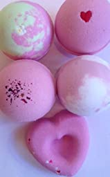 Valentine\'s Day Bath Bomb 5-pack