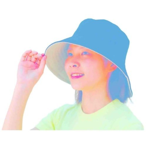 エムワン コンパクトリバーシブルUVカット帽子