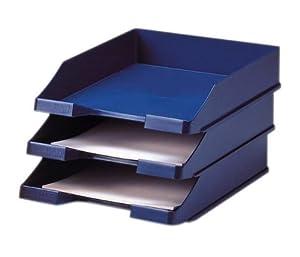 HAN 1027-X-14 Standardbriefkorb C4, Polystyrol, 10er Packung, blau