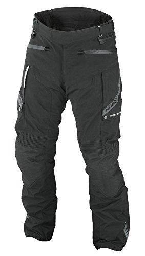 Nerve 1510020504_08 Pantaloni da Donna Moto Touring West Coast, Nero, 48
