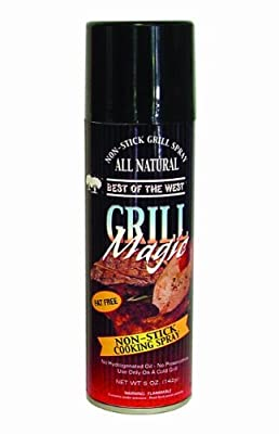 Best of the West 72577-7 Grill Magic Non-Stick Grill Spray, 5-Ounce