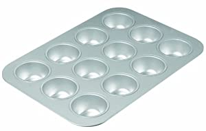 Chicago Metallic Commercial II Traditional Uncoated 12-Cup Muffin Pan by CHICAGO METALLIC