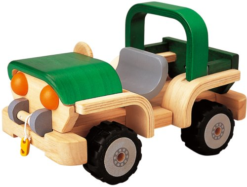 Plan Toy Activity 4X4 WD Adventure Car