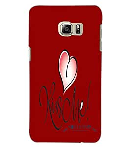 SAMSUNG GALAXY S6 EDGE PLUS HEART Back Cover by PRINTSWAG