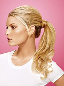 Wrap Around Pony Synthetic Hairpiece by Jessica Simpson hairdo - R830