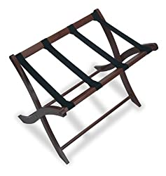 Winsome Walnut Finish Luggage Rack