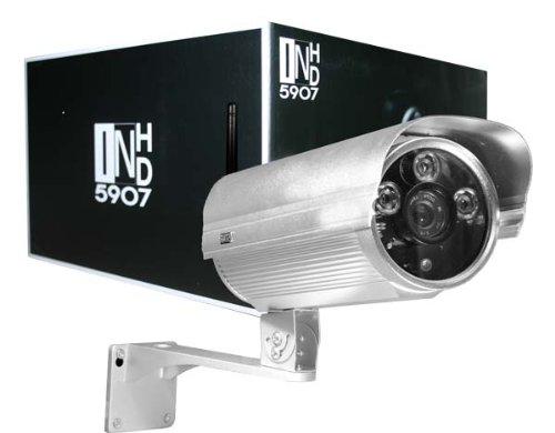 Instar IN-5907HD WLAN IP-Kamera f�r Au�enbereich (WDR-Bildsensor, 1 Megapixel, 3x High Power IR LEDs, 13 Watt)