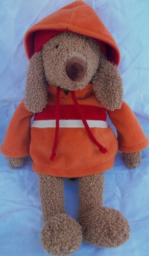"Bath & Body Works Plush Dog Barker in a Hat & Matching Hoodie 10"" - 1"