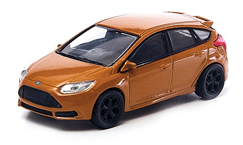 Ford Focus ST, met.-hellbraun , 2012, Modellauto, Fertigmodell, Greenlight 1:64