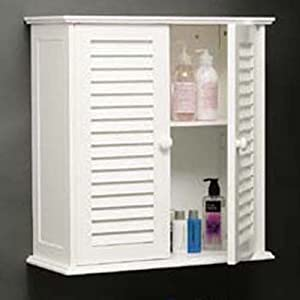 shutter bathroom wall storage cabinet white kitchen