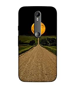 small candy 3D Printed Back Cover For Motorola Moto G Turbo / Moto G3 -Multicolor illustration