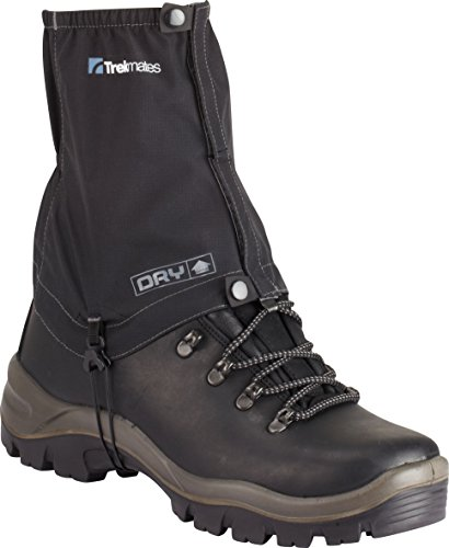 Trekmates MENS DRY ATLAS LIGHTWEIGHT ANKLE GAITERS ONE SIZE (BLACK/CHARCOAL)