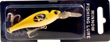 NCAA Officially Licensed University of Missouri Mizzou Tigers Sports Collector's Series Minnow Fishing Lure  Best Offer