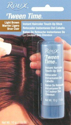 Roux Tween-Time Crayon Light Brown (3-Pack) with Free Nail File