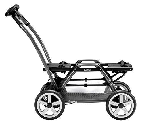 Peg Perego Duette SW Stroller Chassis, Grey - 1