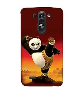 printtech Kungfu Panda Back Case Cover for LG G3 Beat::LG G3 Vigor::LG G3s::LG g3s Dual