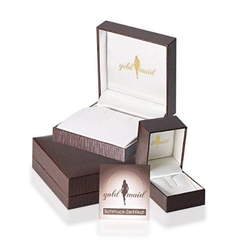 Goldmaid Damen-Creolen Exklusiv Line 750 Weißgold 750 106 schwarze Brillanten 54 weisse Brillanten 1,00ct Ex O545WGS Beste Angebot