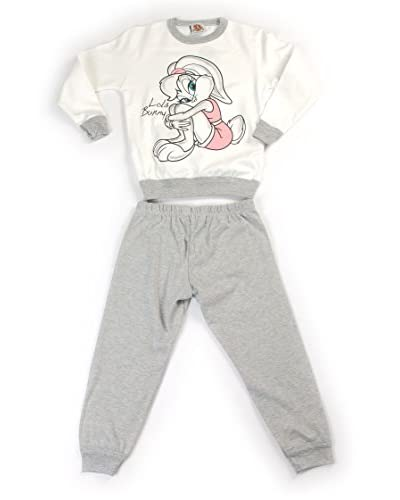 Fantasia Pijama Looney Tunes Gris