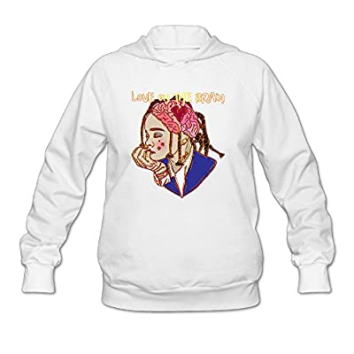 Women's Rihanna Love On The Brain Pullover Hooded Printing Hoodie