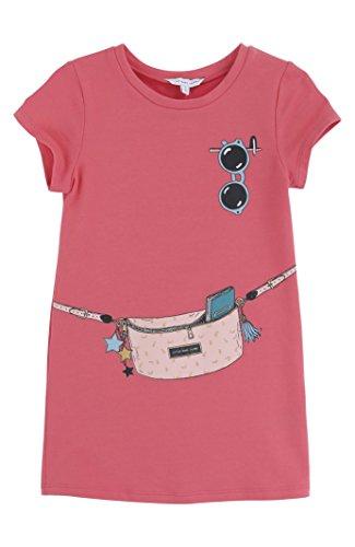Little Marc Jacobs Fancy Pack Dress -3 -Coral