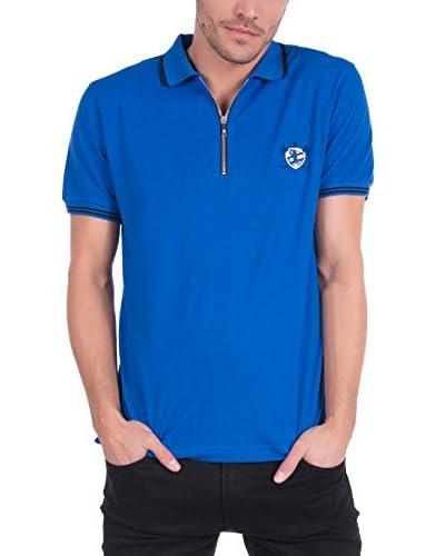 SIR RAYMOND TAILOR Men'S Polo Shirt Short Sleeve Model 310 SAX