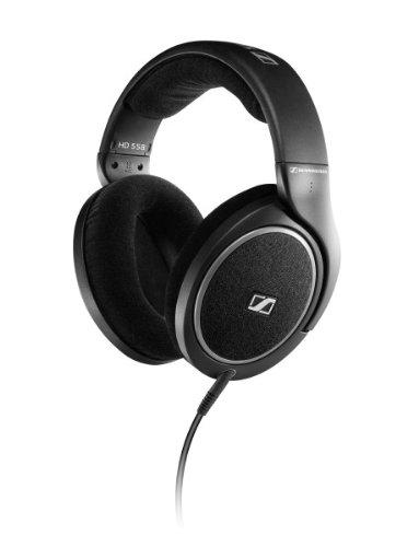 Sennheiser HD 558 High End Open Headphones with E.A.R. Technology