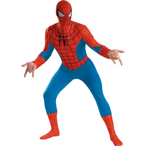 Disguise Mens Spider-Man Deluxe Adult Costume
