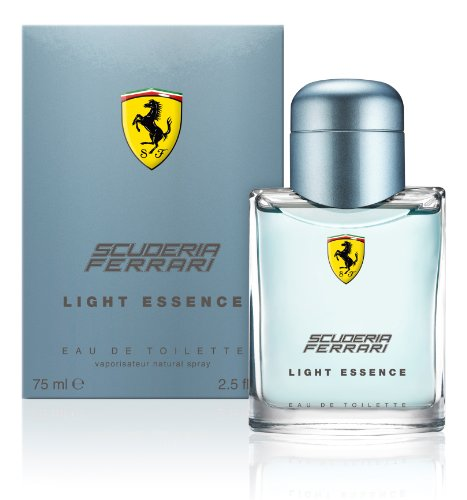 Ferrari Eau de Toilette Spray for Men, Light Essence, 2.5 Ounce