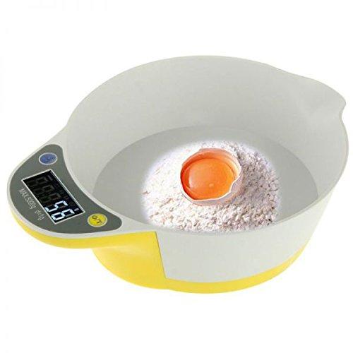 Balance de cuisine électronique bol récipient culinaire 1g à 5kg