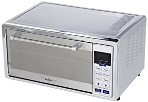 Miallegro 5380 Smartblue 6-Slice Digital Convection Toaster Oven with Pizza Bump, Stainless Steel