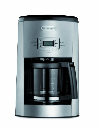 Delonghi Coffee Maker Sainsburys : DeLonghi DC514T 14-Cup Programmable Drip Coffeemaker Black Coffee Maker