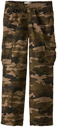 The Children's Place Big Boys' Pull-On Cargo Pant, Olive Camo, 12 (Boys Camo Pants compare prices)