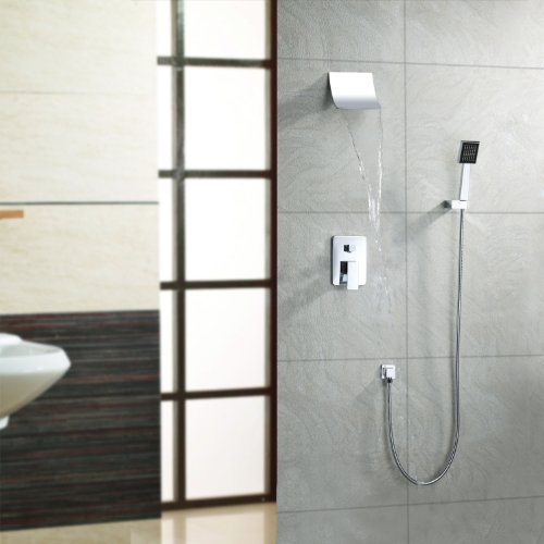 LightInTheBox Contemporary Waterfall Shower Faucet with Shower head ...