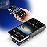 サンワダイレクト iPhoneプロジェクター iPhone4 iPhone4S 対応 バッテリー内蔵 一体型 <人気急上昇> 400-PRJ011