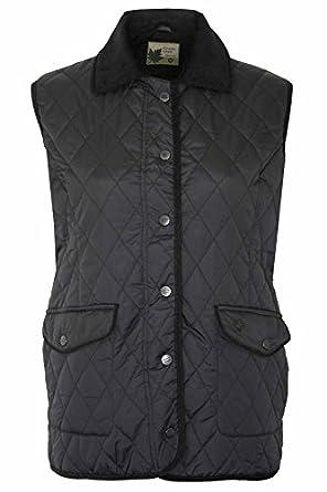 Ladies Champion Country Estate PressStud Closure Quilted Gilet Bodywarmer Jacket