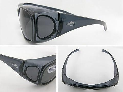 AXE(アックス) サングラス 602P-SM 偏光オーバーグラス