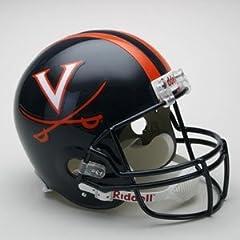Virginia Cavaliers Riddell Full Size Deluxe Replica Football Helmet