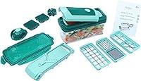 IBS Multipurpose Handy Grator Kitchen Accessories Kit Vegetable Salad Maker Fruits Green Cutter Set Steel blades Chopper